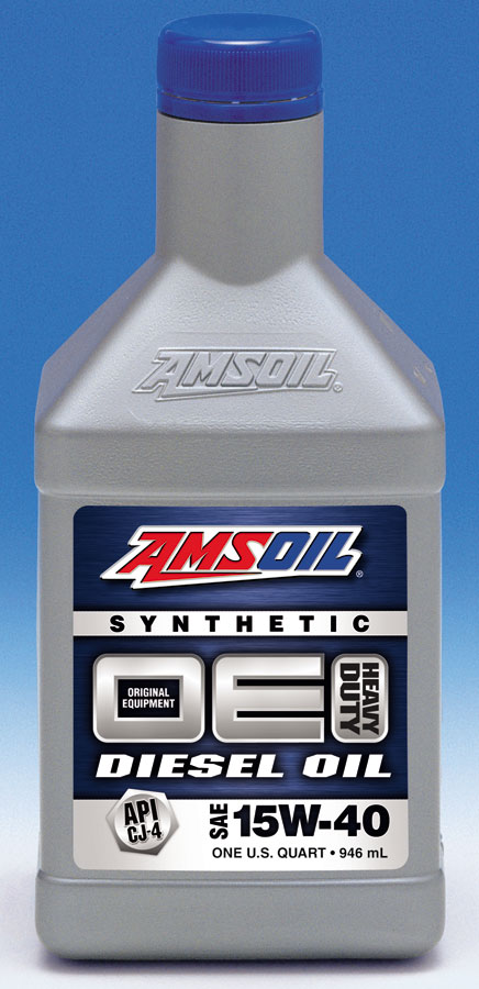 We call this  diesel oil DEO. Amsoil CJ-4 Synthetic Premium Diesel Engine Oil, SAE 5W40.