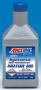 10w30, 100% synthetic Amsoil, ATM. We call this motor oil ASM.