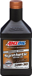 e call this SSO.Amsoil 100% synthetic 5w 30  It is rated for 35,000 mi service