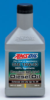 We call this  diesel oil DME. Amsoil CJ-4 Synthetic Premium Diesel Engine Oil, SAE 15W40.  If you need CJ-4 this is it .  Please call me for fleet/case/ or barrel pricing and quick ship 800 692 7109.  We have filters and bypass filters for all applications.  Call for same day warehouse pickup and same day quick ship.