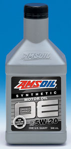 Amsoil synthetic 5W20